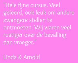 Quote Linda & Arjan